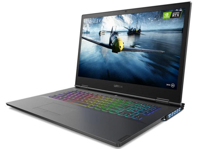 【再生品】Lenovo Legion Y740 (17) USキー /Windows 10 /Core i7-9750H /1TB SSD + 1TB 32GB FHD RTX 2070