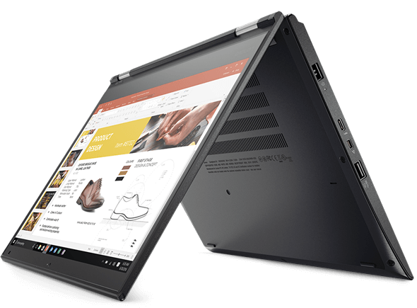 【再生品】ThinkPad Yoga 370 /Win 10 Pro /Core i5-7300U /256GB 8GB FHD タッチ+ ペン LTE