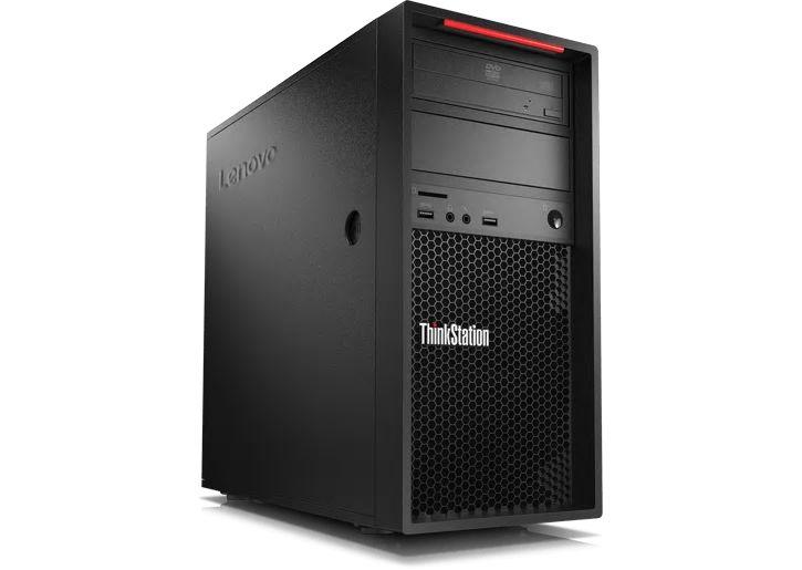 【再生品】ThinkStation P520c /Windows 10 Pro /Xeon W-2102 /1TB 16GB P400