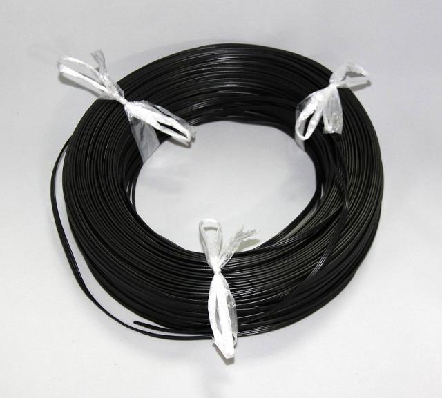 三本平行線黒 150m巻 VFF-0.5SQ 社名灯用
