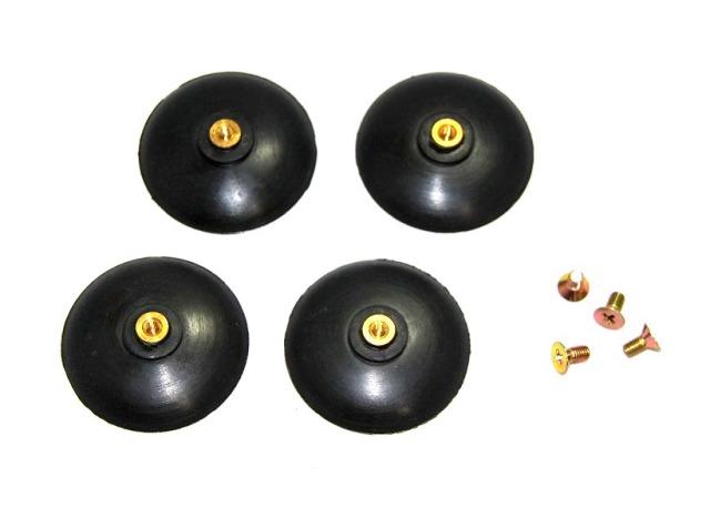 社名灯用吸盤L ビス止めタイプ 直径56mm 4個セット