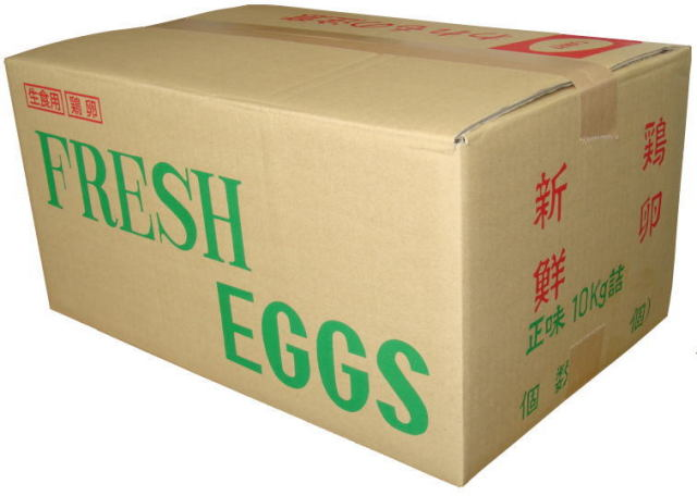 タズミの卵規格外B10Kg入り<約150個入り>
