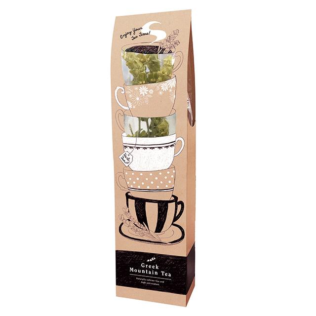 【茎のままティーカップに!】Greek Mountain Tea グリークマウンテンティー(シデリティス) 品番52001