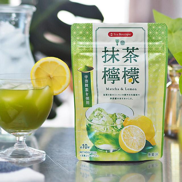 インスタント抹茶檸檬
