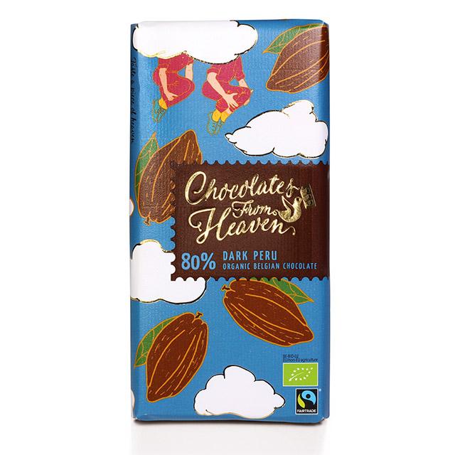 チョコレートフロムヘブン 80% ダーク