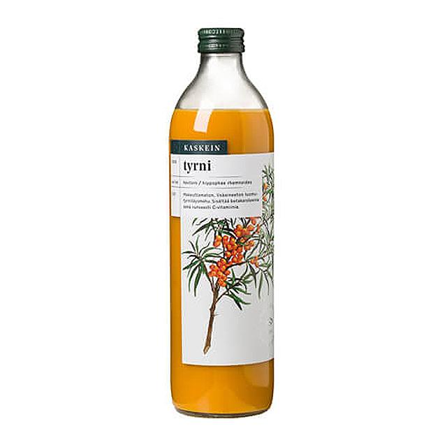 ビタミンと栄養素の宝庫  オメガ7系不飽和脂肪酸を含んだスーパーフルーツ カスケイン オーガニック シーバックソーン100%ジュース(500ml) 品番14210
