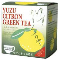 【アルミ個包装】ゆず緑茶[国産柚子使用] 品番1478