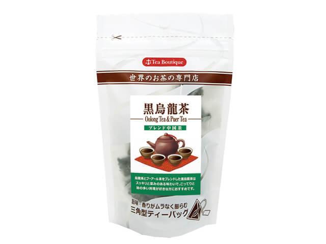 中国茶三角ティーバッグ 黒烏龍茶 品番1655