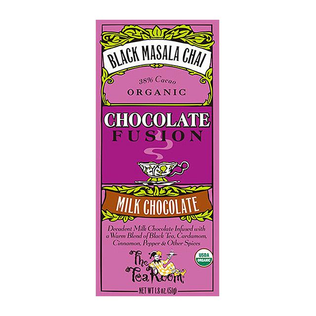 ティールーム・オーガニックチョコレート/ブラックマサラチャイ 品番1946