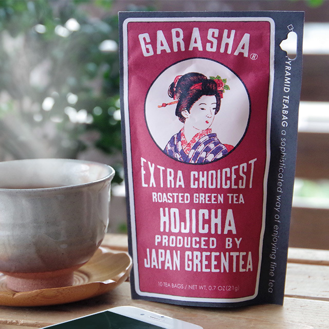 GARASHA(ガラシャ) 緑茶 ほうじ茶