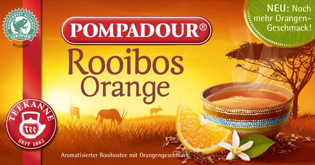 ポンパドール/ルイボスティー スウィートオレンジ(20ティーバッグ) 品番14143