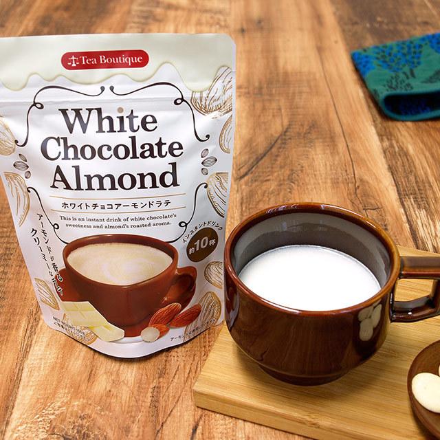 ホワイトチョコアーモンドラテ