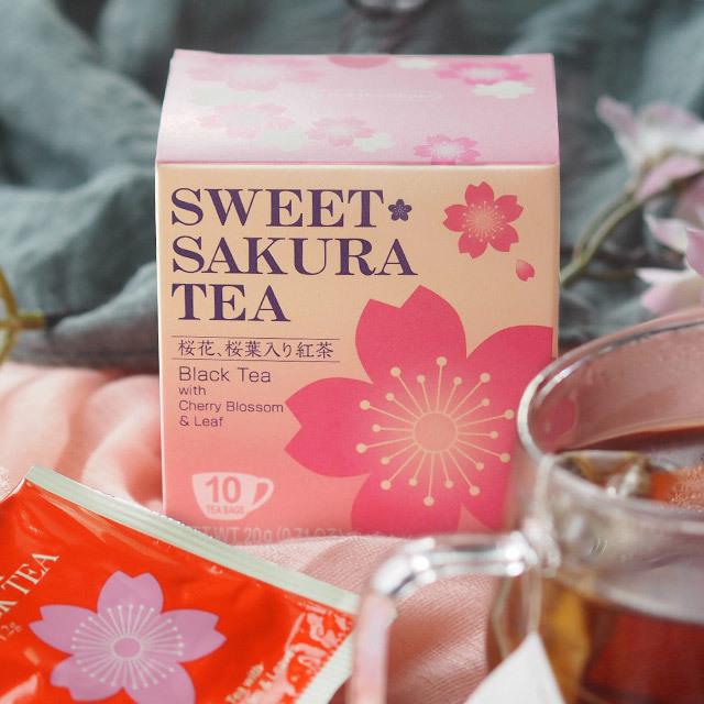 スイートサクラティー 紅茶