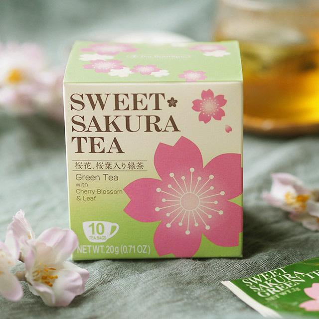 スイートサクラティー 緑茶