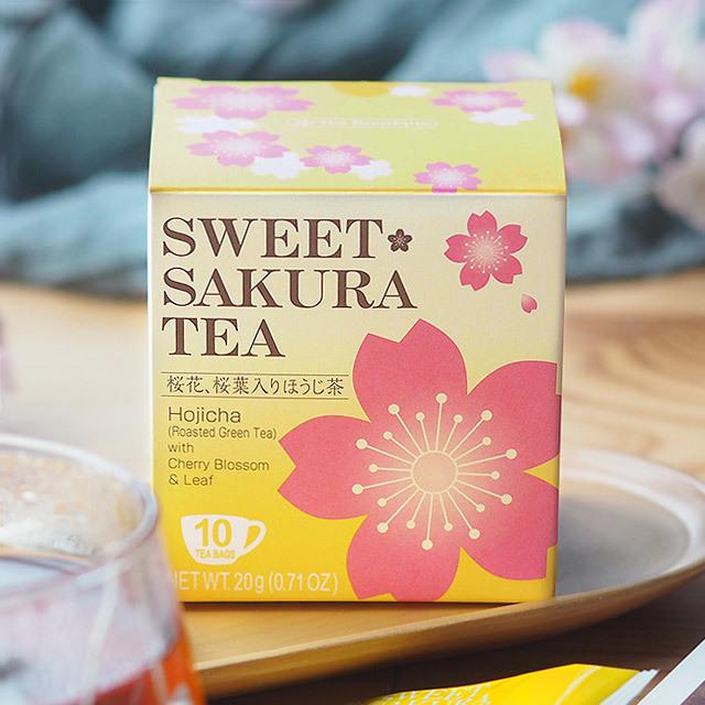 スイートサクラティー ほうじ茶