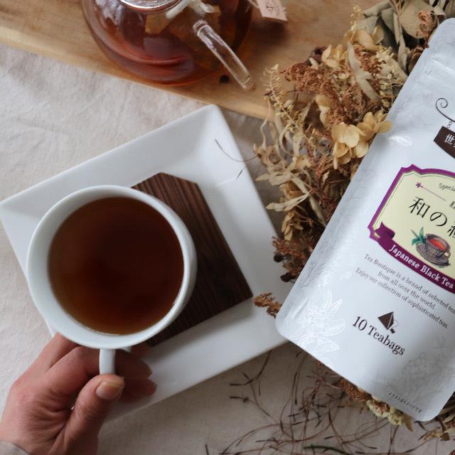 ティーブティック ティーバッグ 和の紅茶