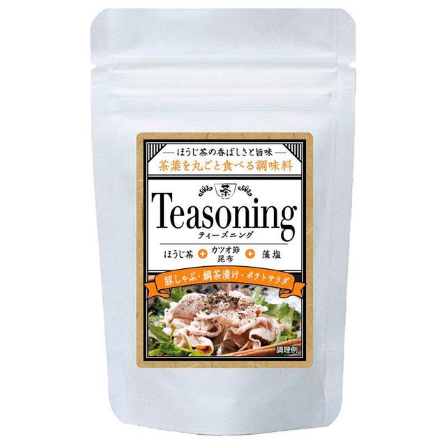 Teasoning/ティーズニング ほうじ茶だし塩