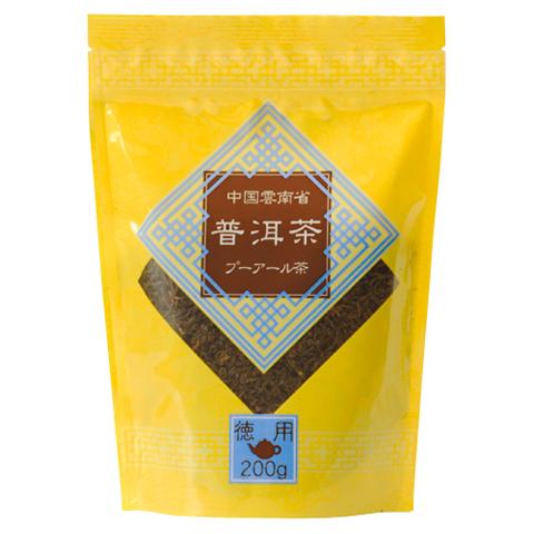 徳用プーアール茶