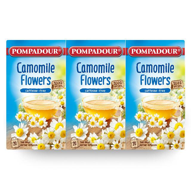 ポンパドール カモミール 3個セット