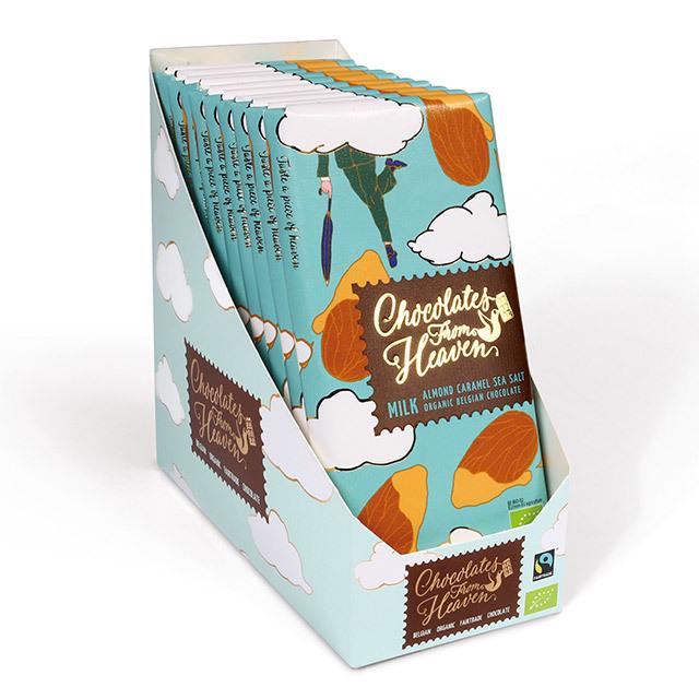 チョコレートフロムヘブン アーモンドキャラメルシーソルト