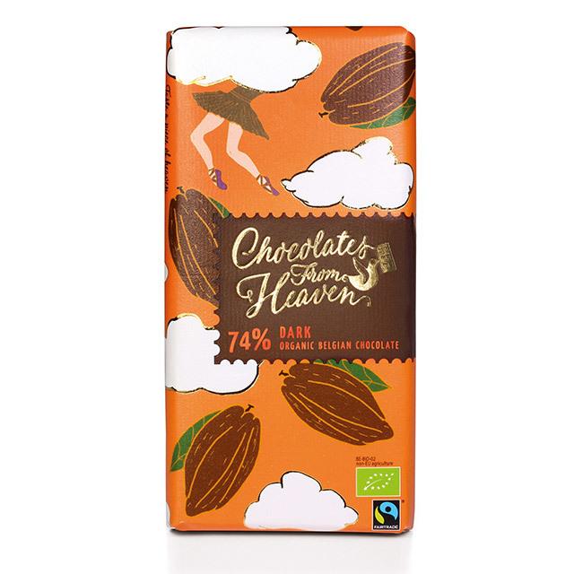 チョコレートフロムヘブン 74% ダーク