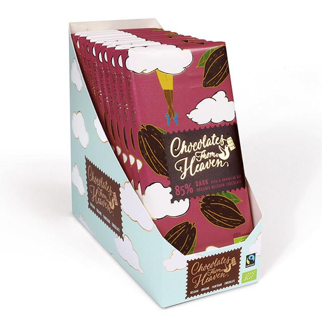 チョコレートフロムヘブン 85% ダーク