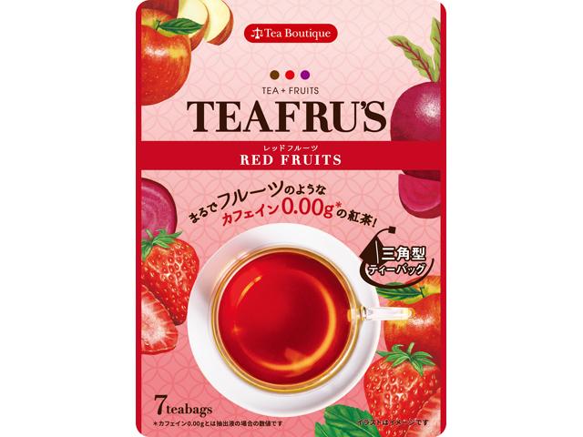 ティーフルズ TEAFRU'S レッドフルーツ 品番50530