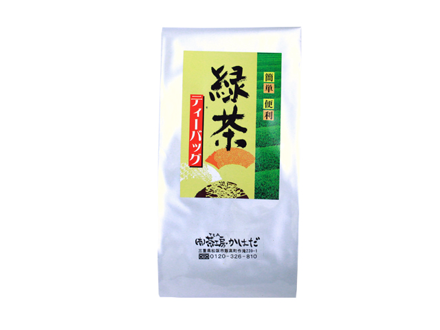 緑茶お徳用ティーバッグ
