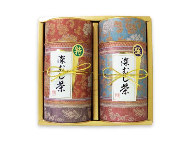 【ギフト】ギフトセット「華紋」(熟成香肌茶 180g×1、花ひびき 180g×1)