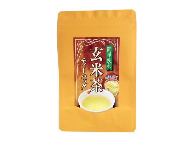 【国産玄米100%使用】玄米茶ティーバッグ(5g×30P)