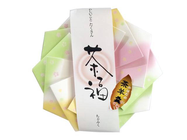 【お茶屋の和菓子】ほうじ茶羊羹・緑茶羊羹
