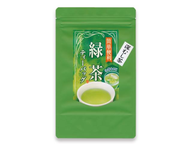 高級深蒸し茶ティーバッグ(5g×30P)【水出しOK!】