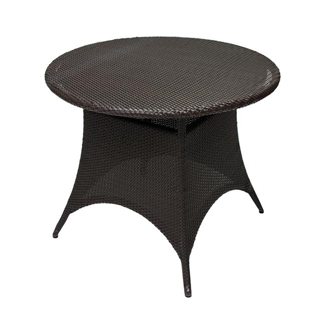 アンジェ ラウンドダイニングテーブル90 (ANGE-AL-1535-RT90-AD)