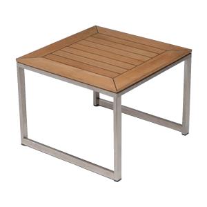 アナンタ サイドテーブル(天然チーク×ステンレス) (ANT-45)