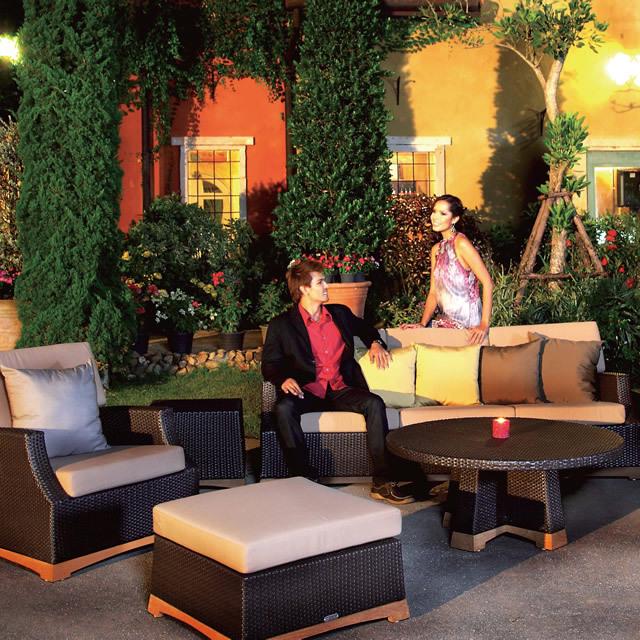 アルバ 広いお庭やテラスにぴったりの贅沢リビングコーディネート (ARB-ST2)
