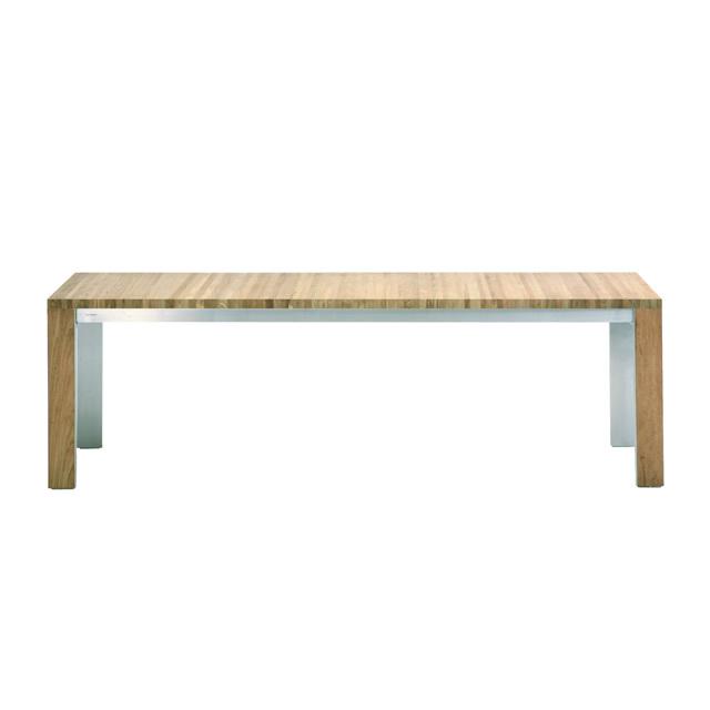 ボンディ ロングダイニングテーブル(ヘアラインステンレス) (BONDY-GBC8446HL)
