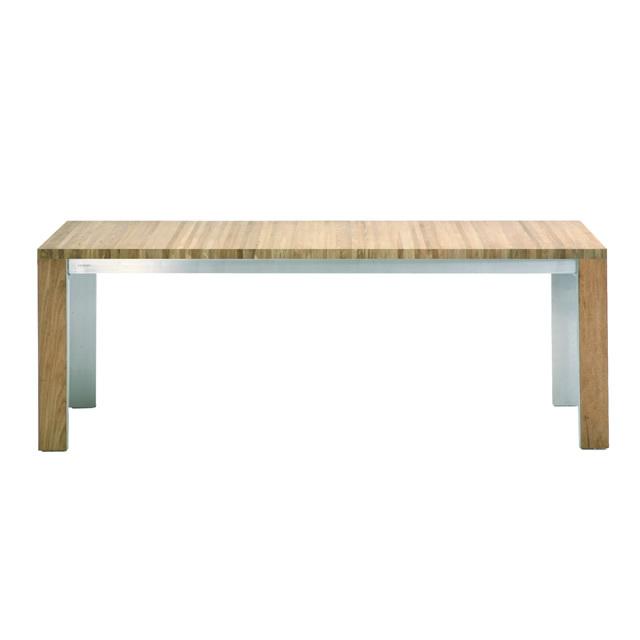 ボンディ レクタングルダイニングテーブル(ヘアラインステンレス) (BONDY-GBC8441HL)
