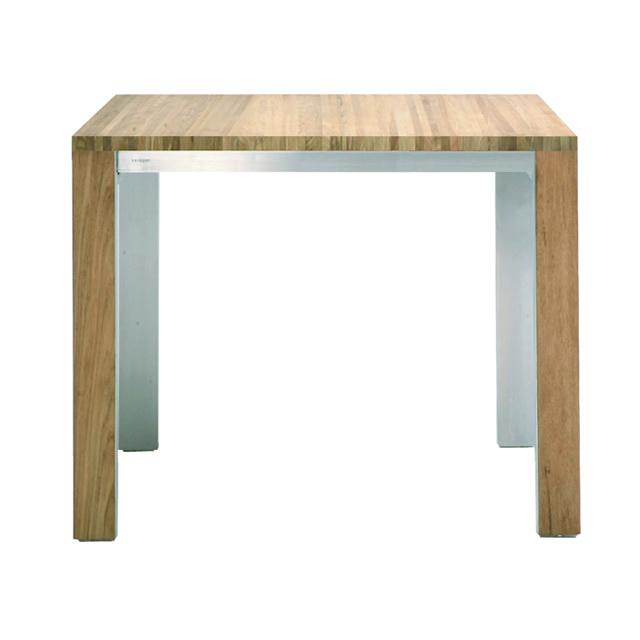 ボンディ スクエアダイニングテーブル(ヘアラインステンレス) (BONDY-GBC8442HL)