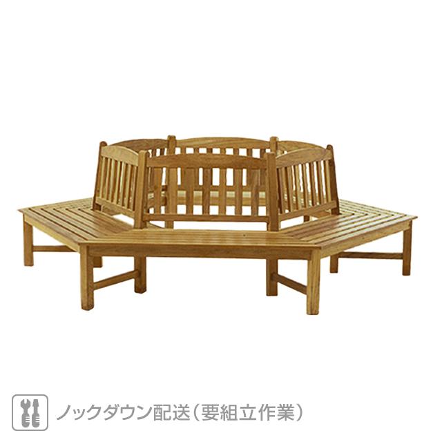 オクタゴナル ツリーベンチ(TREE-112)