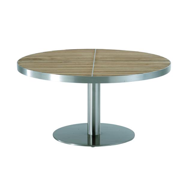 キュイール ラウンドコーヒーテーブル (CUIRE-GKF8704HL)