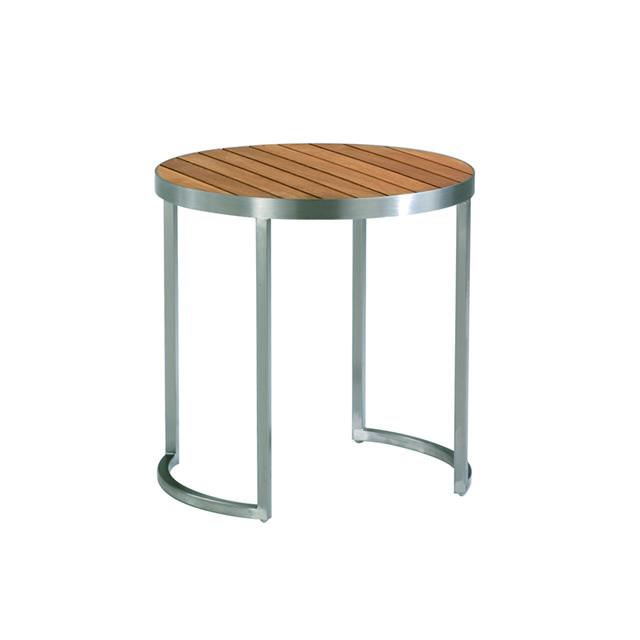 キュイール ラウンドサイドテーブル (CUIRE-GKF8707HL)
