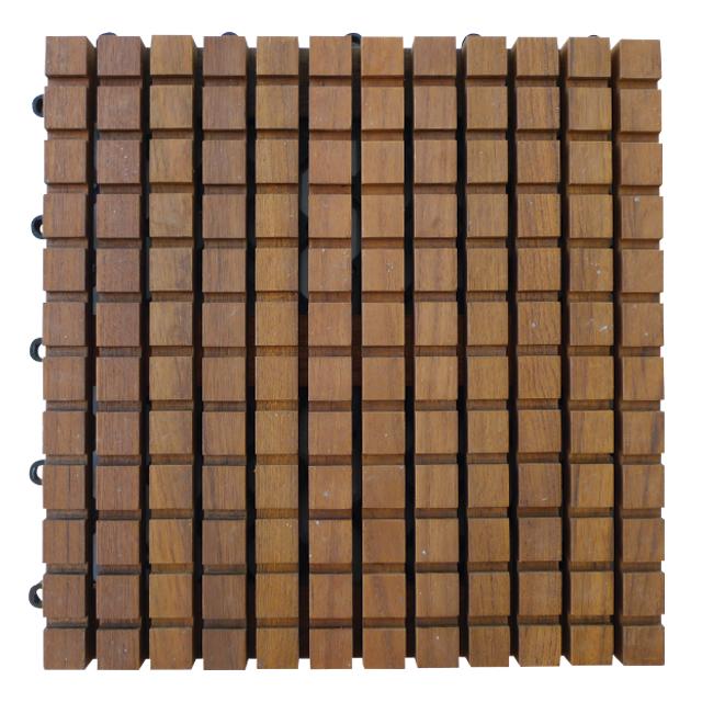 ウッドデッキ チョコレートバー