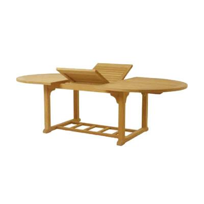 ドーチェスター オーバルエクステンション ダイニングテーブル(DOR-120-182-240)