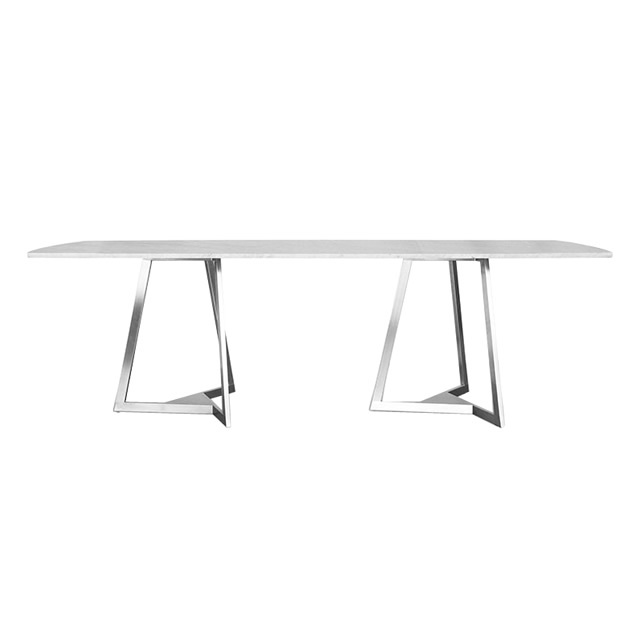 フレジャス レクタングル ダイニングテーブル(大理石天板) (FREJUS-GTZ8202HL)