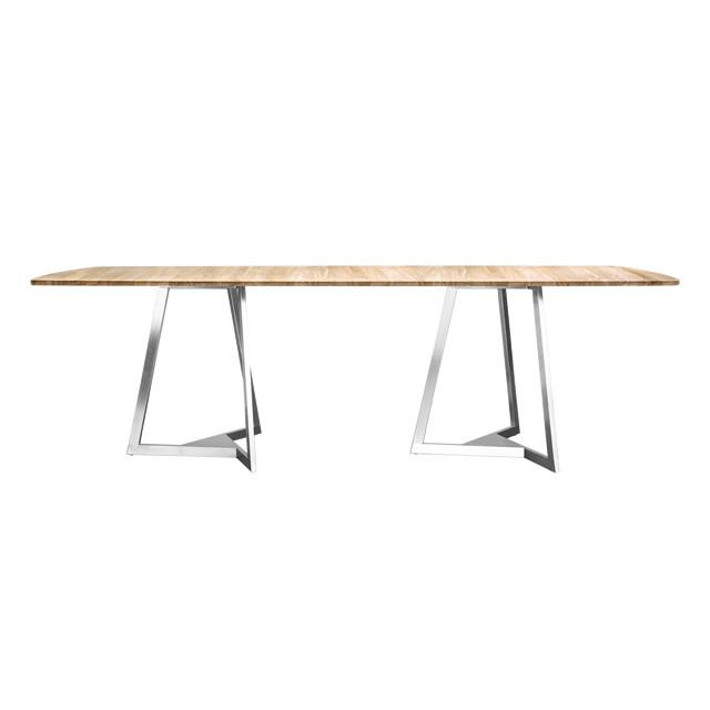フレジャス レクタングル ダイニングテーブル(チーク天板) (FREJUS-GTZ8102HL)