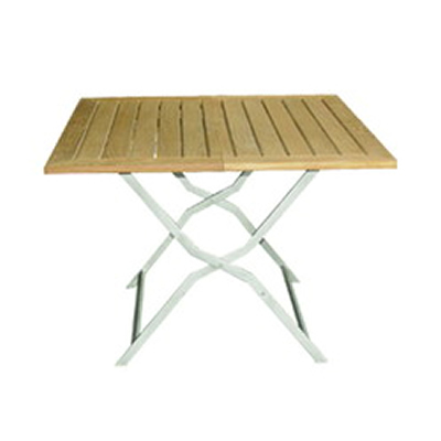 マンハッタン フォールディング スクウェアテーブル 100×100 (MAN-100-100F)
