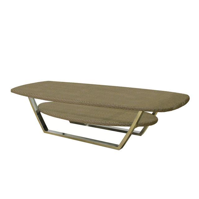 ミュシャ 新世代ラタン天板 コーヒーテーブル (MUCHA-SAL-0886-CT-W-LO)