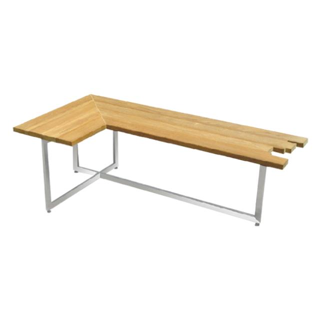 ヌーン コーヒーテーブル(L-shaped) (NOON-COF-B)