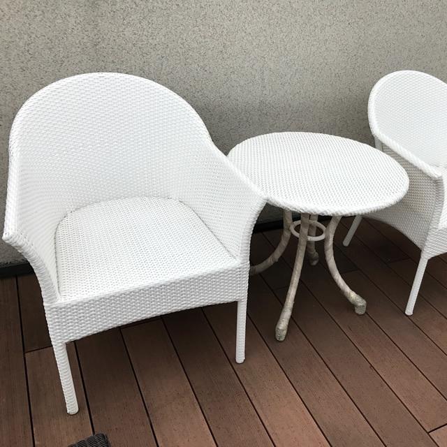 【展示品】 ミラン デザインダイニングセット(MLN-ST2) NC126(White)