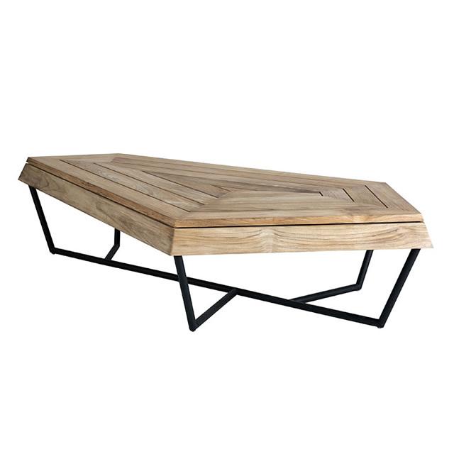 セイン チーク コーヒーテーブル(Lサイズ) (SAIN-TEAK-GSF8551PDC)